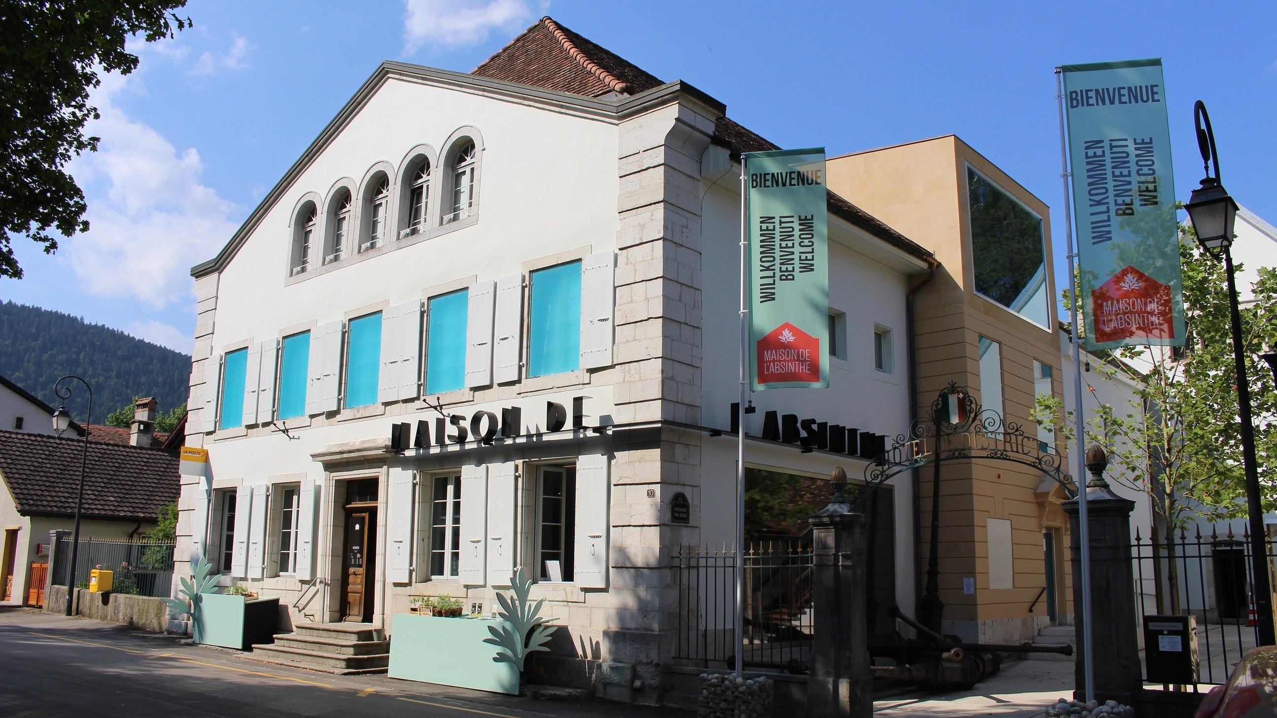 MAISON DE L\'ABSINTHE - Destination Val-de-Travers