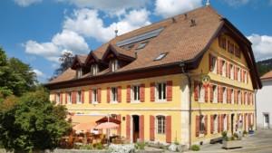 Hôtel de l'Aigle, Couvet, Val-de-Travers - Batiment