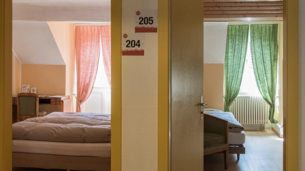 Hôtel de l'Aigle - chambre double