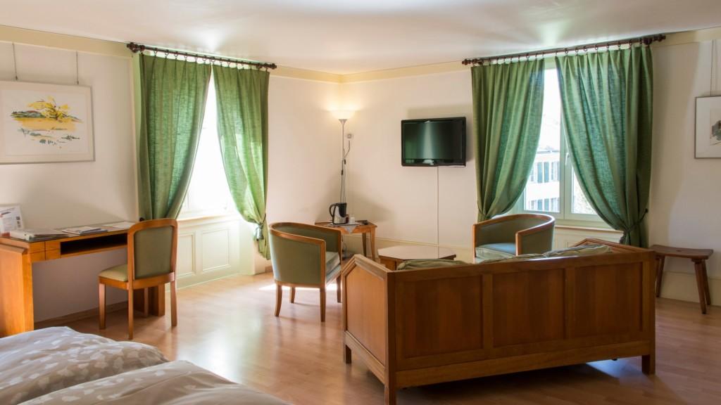 Hôtel de l'Aigle - suite coin salon