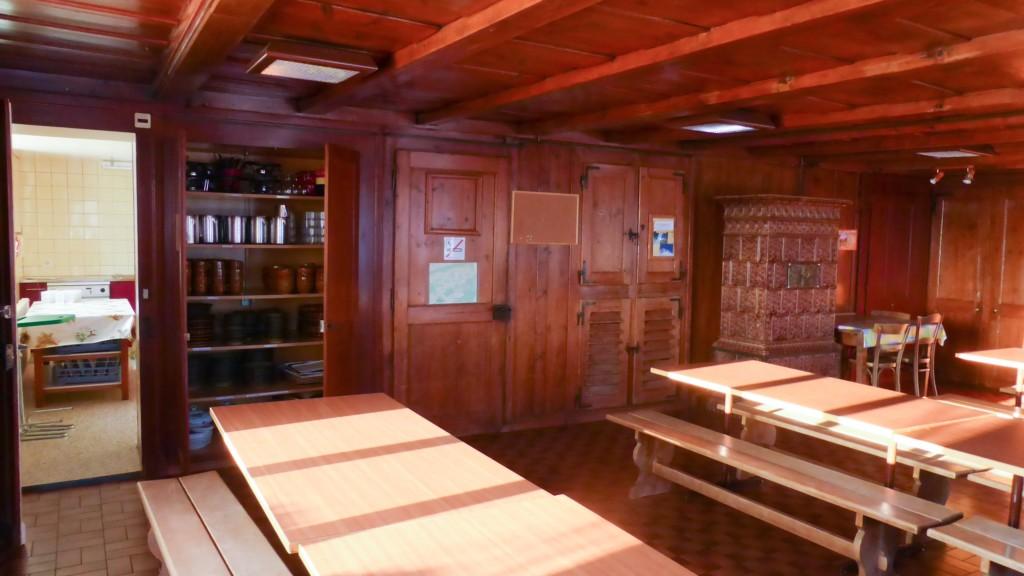 Gruppenunterkunft / Colonie de Vacances Bellevue, Mont-de-Buttes, Val-de-Traverss