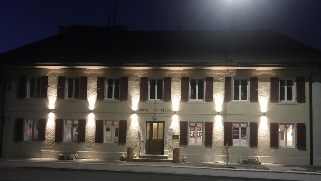 Hôtel de ville - Les Verrières - extérieur