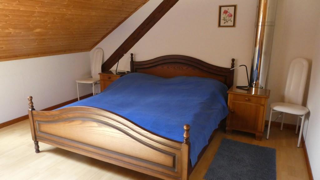 Chez Hauri - grand lit
