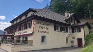 Hotel Restaurant Cret de l'anneau, Travers