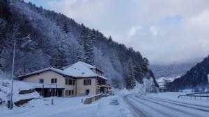 Hotel Cret de l'anneau im Winter