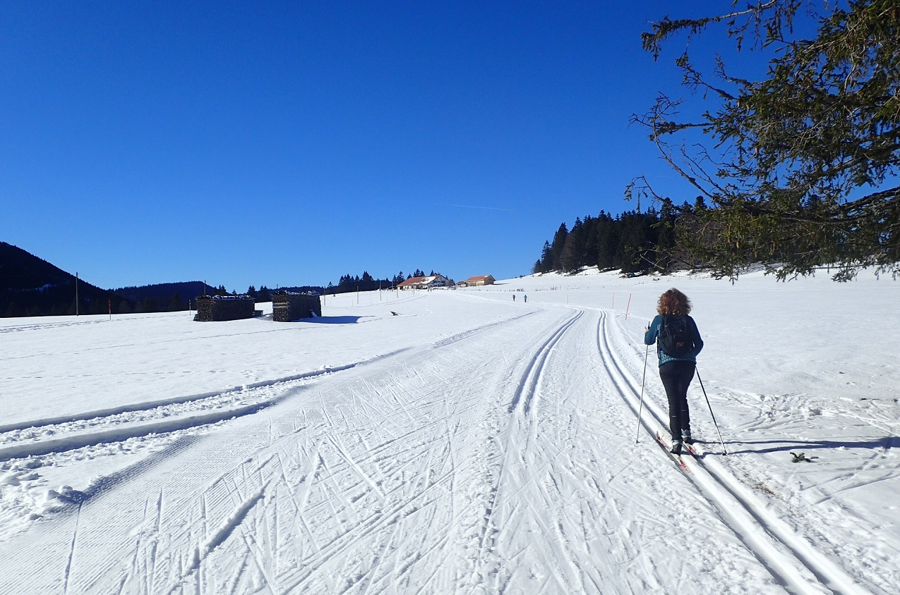 Ski de fond au Val-de-Travers