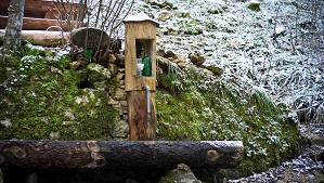 Fontaine des Fées, Buttes
