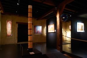 Totem à l'intérieur du Musée La Grange