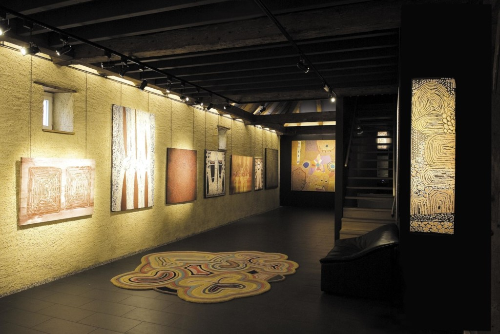 Intérieur du Musée La Grange