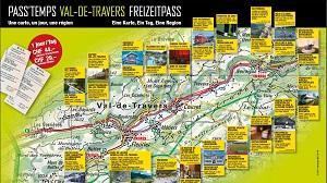 Carte journalière - Pass'temps Val-de-Travers